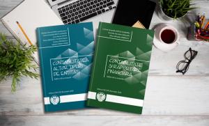 """New editions of the publications """"Contabilitate și raportare financiară"""" and """"Contabilitatea altor tipuri de entități"""" are now available for CECCAR interns"""