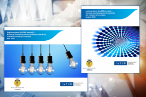 Illustrative examples for ISA 540 implementation, available for free in Romanian