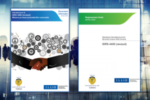 International Standard on Related Services (ISRS) 4400 (revised), translated in Romanian by CECCAR