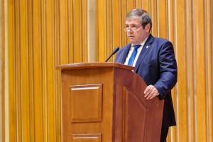Le message du sénateur Ștefan Mihu, vice-président de la Commission  du budget, finances, activité bancaire et marché du capital, à l'ouverture du Congrès de la profession comptable